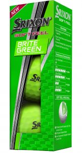 SRIXON SOFT FEEL BRITE GREEN
