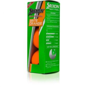 SRIXON SOFT FEEL BRITE ORANGE