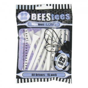 BEES TEES WOOD BLUE 83mm small pack